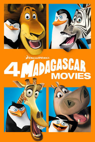 Madagascar 4-Movie Collection (Movies Anywhere HD)