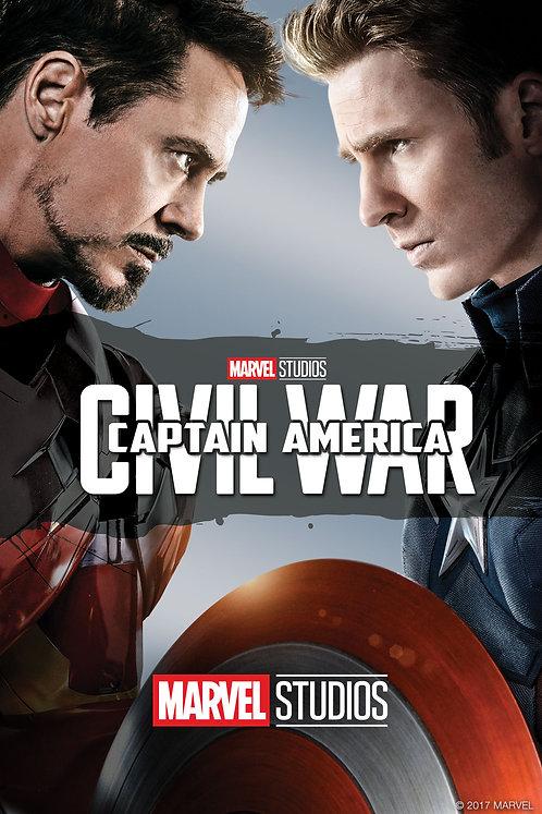 Captain America: Civil War (iTunes 4K)