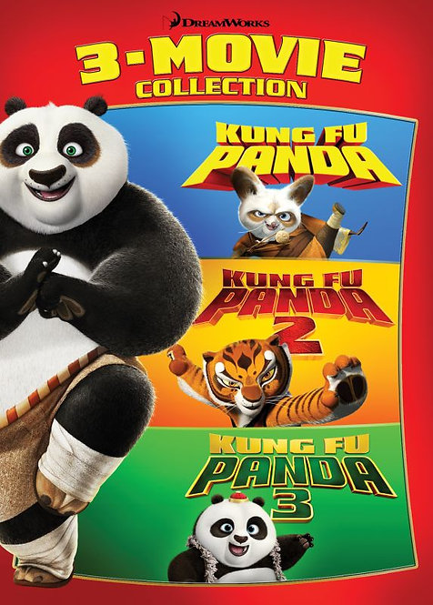 Kung Fu Panda 3-Movie Collection (Movies Anywhere HD)