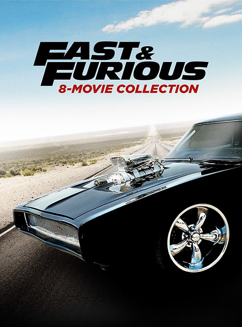 Fast & Furious 8-Movie-Collection (Movies Anywhere HD)