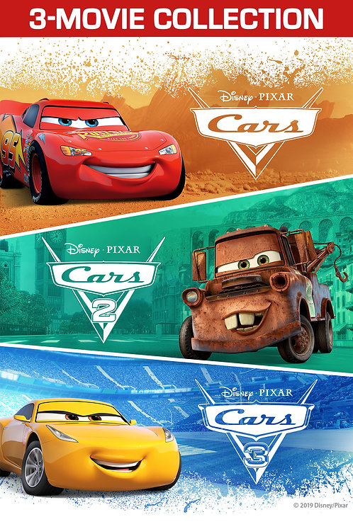 Cars 3-Movie Collection (Google Play HD)