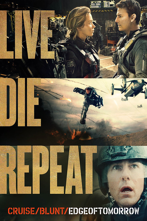 Live Die Repeat: Edge of Tomorrow (Movies Anywhere HD)