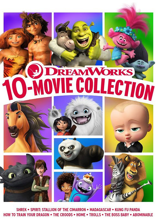 Dreamworks 10-Movie Collection (Movies Anywhere HD)
