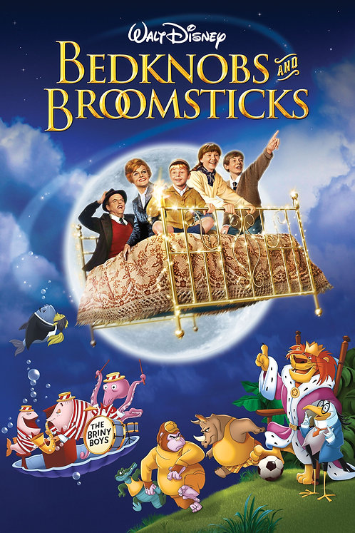 Bedknobs and Broomsticks (iTunes HD)