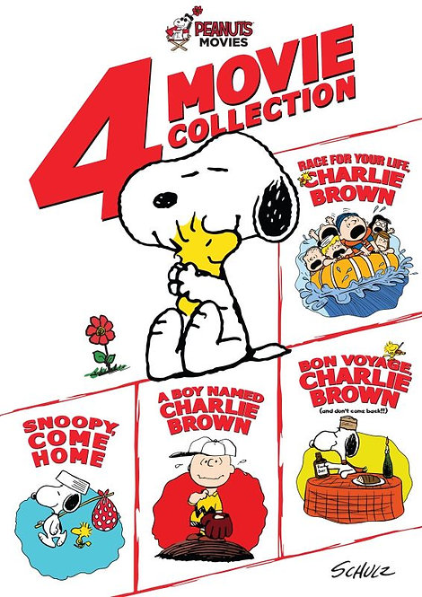 Peanuts 4-Movie Collection (iTunes HD)
