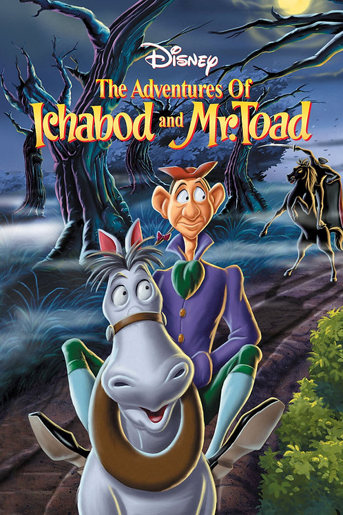 Adventures of Ichabod and Mr. Toad (Movies Anywhere HD)
