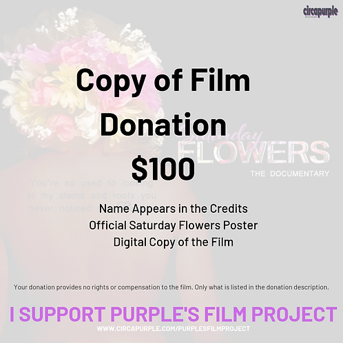 Digital Copy of Film Donation