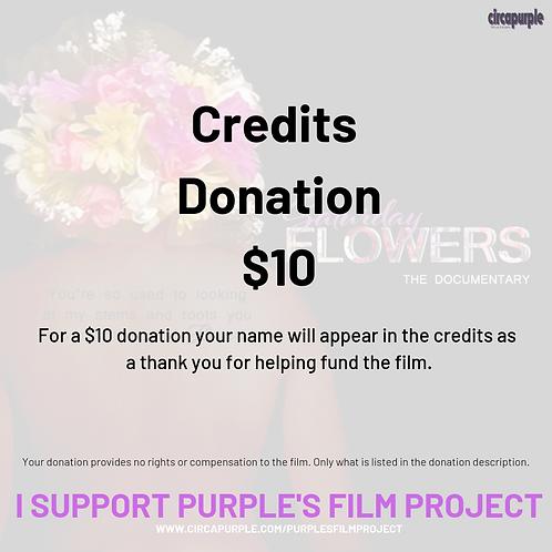 Credit Donation
