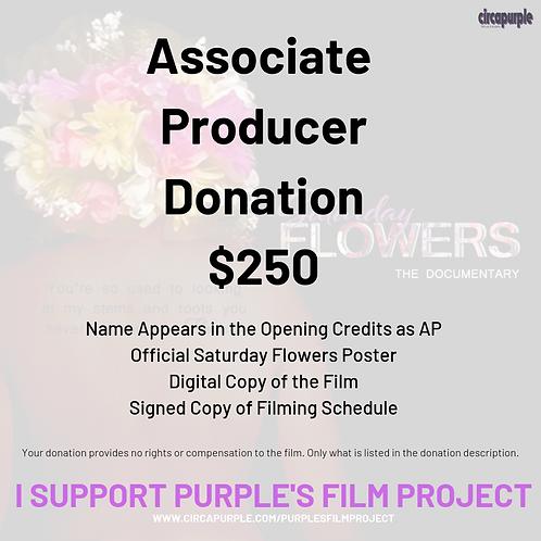 Associate Producer Donation