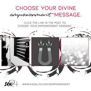 Get your divine empowerment message!
