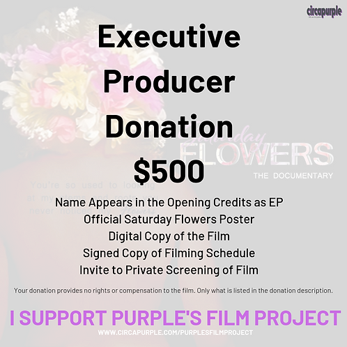 Executive Producer Donation