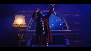 spectacle de noel, magicien bordeaux, ruban bouche
