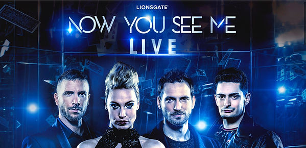 magcie bordeaux, now you see me live bordeaux, florian sainvet bordeaux, magie bordeaux, spectacle de magie, enzo weyne, sabine van diemen, james more