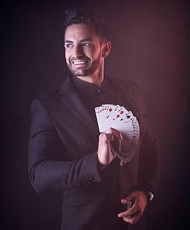 magicien bordeaux, close-up, magicien close up