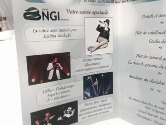 40 ans Lycée Hotelier Notre Dame | Magicien Bordeaux