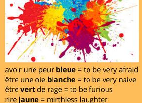 Des expressions en couleurs!