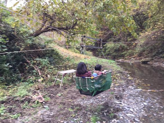 6/9 新緑の里山を満喫しよう!(釣り遊び・水遊び・川を渡るスライダー・手打ちうどん作り!)※満員となりました