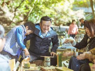 4/24 小池さんちの河原で遊ぼう!お昼は竹の中からこんにちは「かぐや姫ごはん」!
