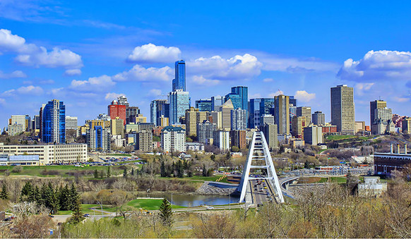 This is Edmonton, Alberta - the capital city of Alberta