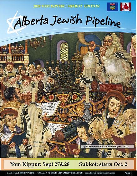 ALBERTA JEWISH PIPELINE - YOM KIPPUR-SUK