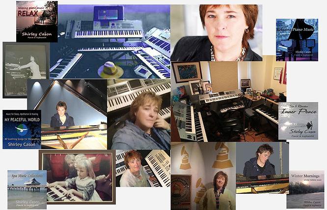 Shirley Cason : Pianist - Keyboardist - Songwriter