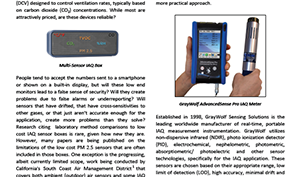 Validating Low Cost IAQ Sensors with High Quality Instrumentation