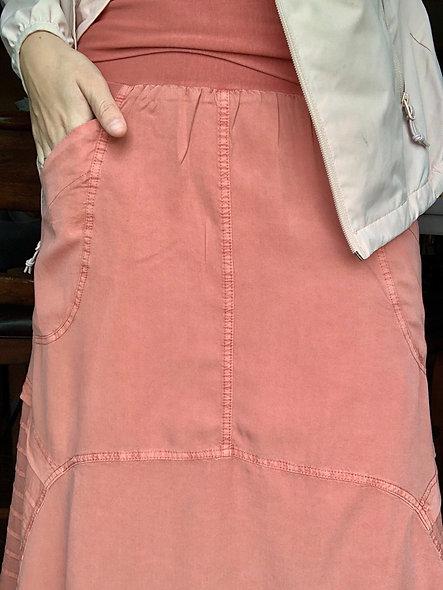 XCVI Terra Coral Skirt