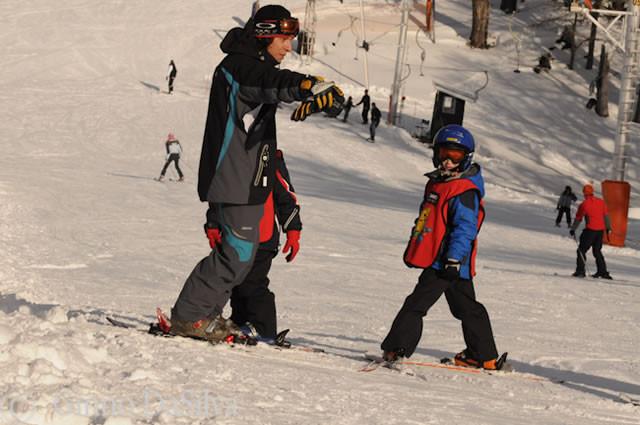 Escuelita de esquí para residentes