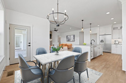 Dining Room with Furniture