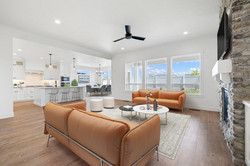 Great Room/Kitchen/Dining with Furniture 2