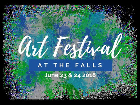 6/23 Art Festival at the Falls