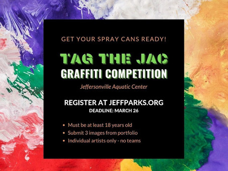 3/10 Tag the JAC, Artist Opportunity