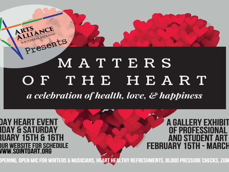 "2/15 ""Matters of the Heart"" Art Show"