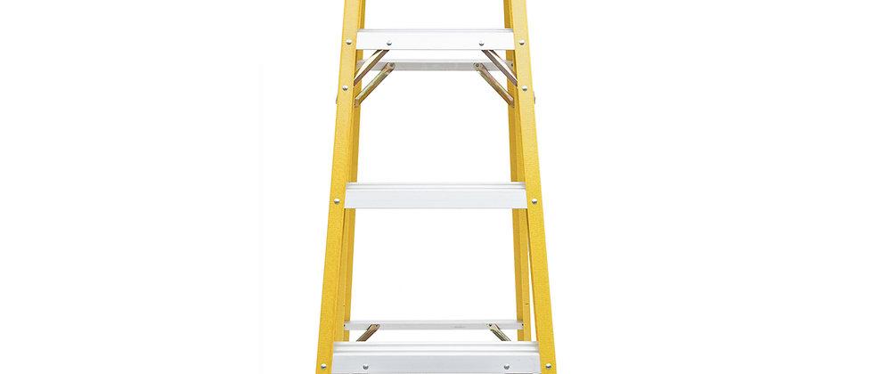 8-Ft. Fiberglass Step Ladder (225-Lb. Capacity)