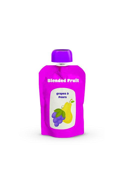 Fruit Puree Pouch 4 oz.
