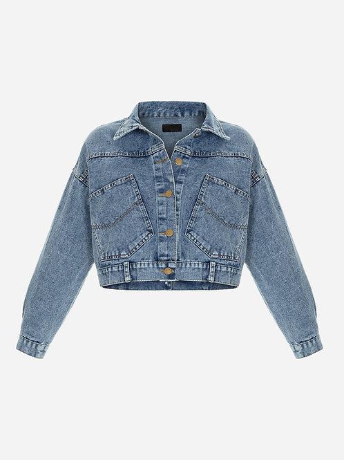 Cropped Cut Jacket