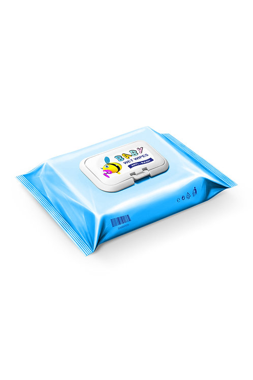 Unscented Baby Wipes 64 ct.
