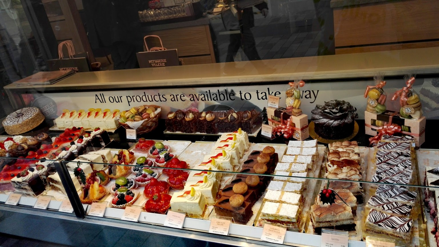 Patisserie Valerie Window Bed