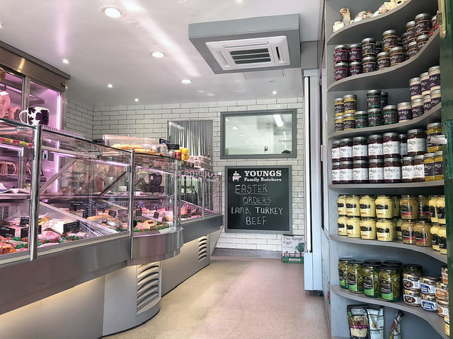 Youngs Butchers Refit