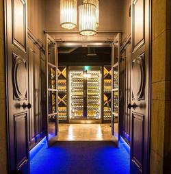 Wine Cabinet Penny Blue