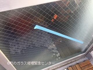 墨田区 錦糸町 ガラス修理後