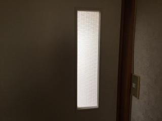 足立区 竹の塚 ガラス修理後
