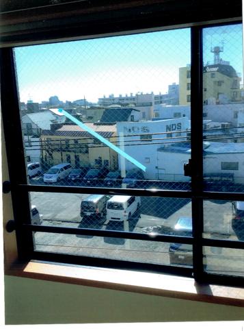 足立区 竹ノ塚 ガラス修理後