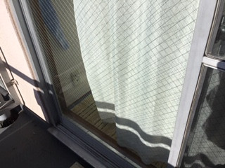 足立区弘道 ガラス修理後