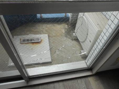 葛飾区 提携法人企業様からの窓ガラス修理依頼