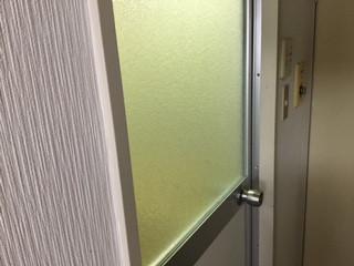 台東区 千束 ガラス修理後