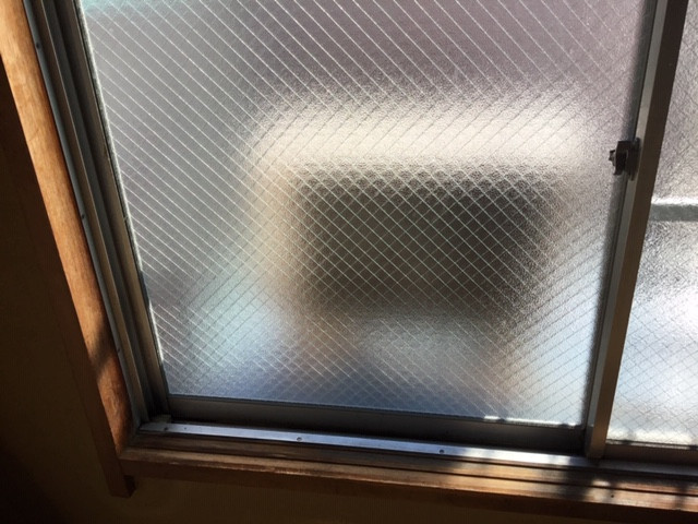 足立区 神明 ガラス修理後