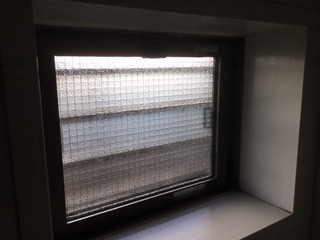 葛飾区 水元 ガラス修理後