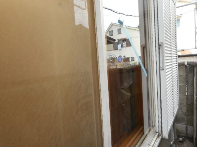 足立区 関原 窓ガラス修理・交換
