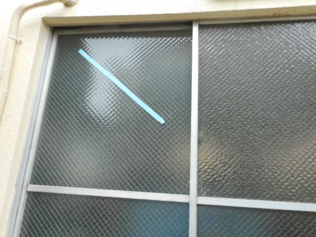 葛飾区 東立石 窓ガラス修理・交換